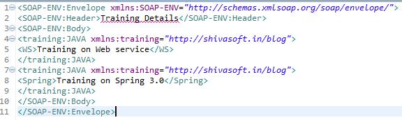 SOAP Messsage Output - Java