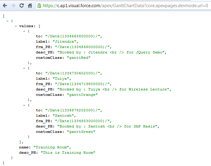 Salesforce and Web » JSON