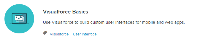 Trailhead - Visualforce Basics