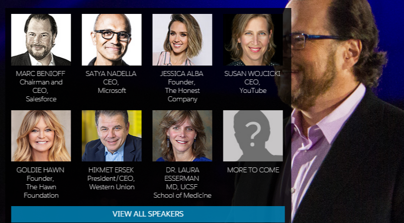 Dreamforce 2015 Speakers