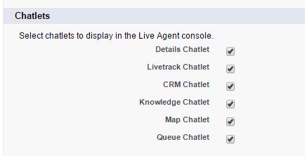 Salesforce Live Agent - Chatlets