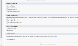 Global Search setting in Object edit page - Salesforce Winter 16