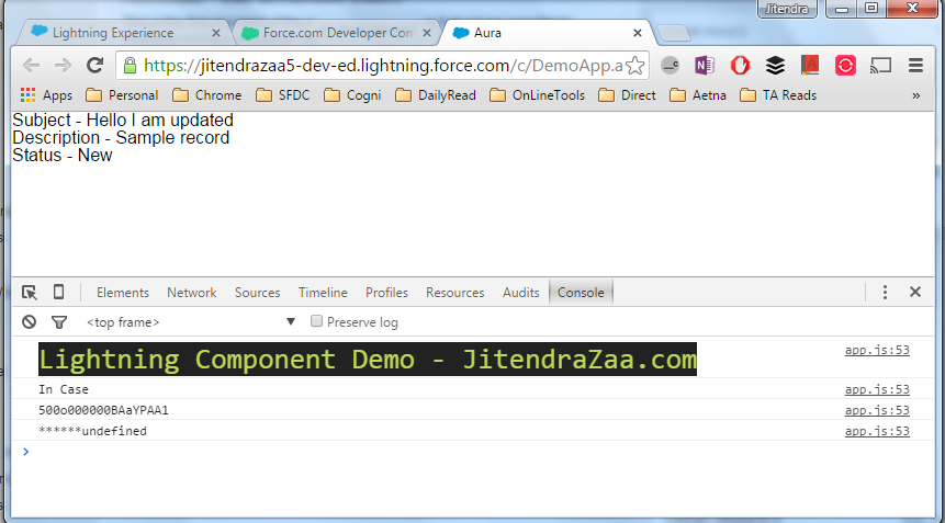 Style Console.log in Salesforce Lightning Component