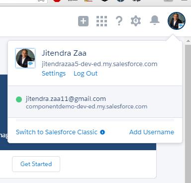 User Switcher in Salesforce Summer 16