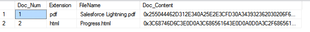 Insert Blob into Database