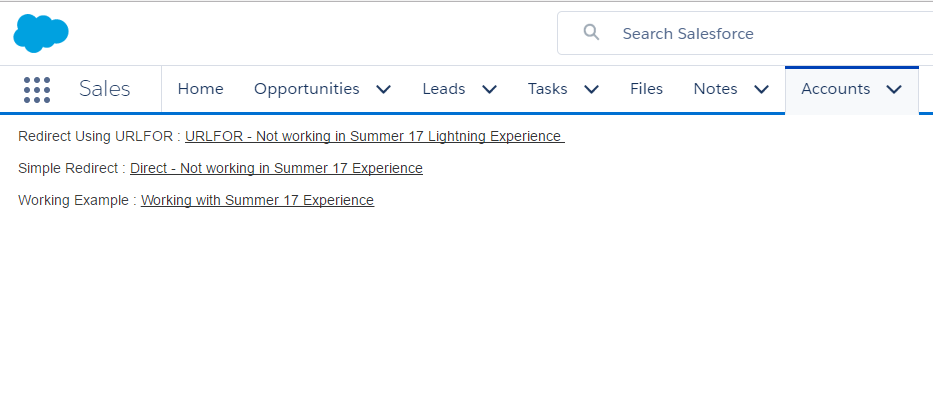 Override New button in Salesforce Lightning Experience