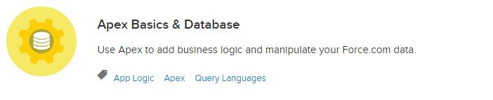 Apex Basics and Database