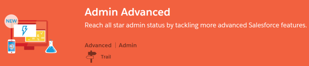 Admin Advance Trail