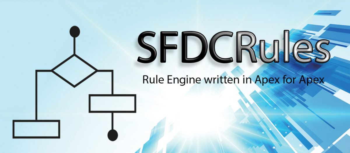 SFDCRules – Simple yet powerful Rule Engine for Salesforce