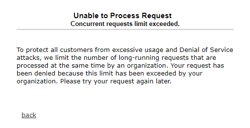 Salesforce Governor Limit error - Concurrent Apex Limit