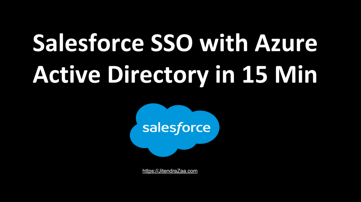 Salesforce Azure SSO in 15 minutes