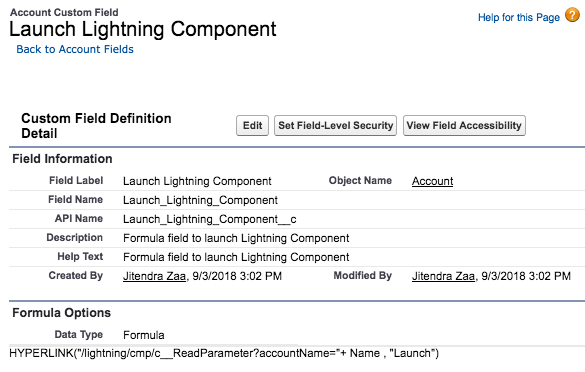 Read Query Parameter in Lightning Component – Jitendra Zaa's