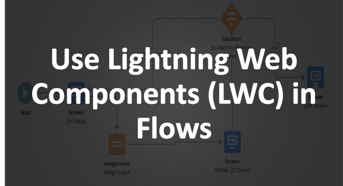 Use Lightning Web Components in Flow